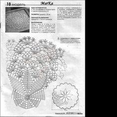 Archiwum albumów Crochet Doily Diagram, Crochet Doily Patterns, Crochet Chart, Thread Crochet, Crochet Motif, Crochet Doilies, Crochet Flowers, Crochet Stitches, Knit Crochet