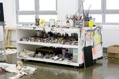 Freunde von Freunden — (English) Andreas Golder — Artist, Studio, Berlin-Weissensee —