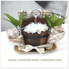 Kitchen towel cake - torta di canovacci - idea regalo casa - come d'incanto - carlinifd