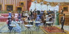 Francesco Tammaro (р.1939) \\ Paris Cafe