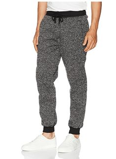 Southpole Men's Basic Fleece Marled Jogger Pant, Navy(Marled), XX-LARGE: Fleece jogger pants in marled colors with elastic waist and matching ankle ribs. Matching hoodie and tee available. Boys and little boys available. Best Joggers, Mens Joggers Sweatpants, Fleece Joggers, Jogger Pants, Men's Pants, Pants Outfit, Oversized Fashion, Men Trousers, Comfy Pants