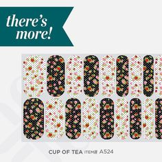 Did you know that some Jamberry nail wrap sheets include more than one style? One sheet offers at least 2 manicures and 2 pedicures.  Beautiful nail art, without the mess of nail polish.  Safe for kiddos too.  http://rachelandme.jamberrynails.net