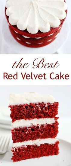 Tested hundreds of times, THIS is the only recipe you will ever need!!! #redvelvet #redvelvetcake #redvelvetrecipes #baking #recipes #recipesforcakes #iambaker #iambakercake