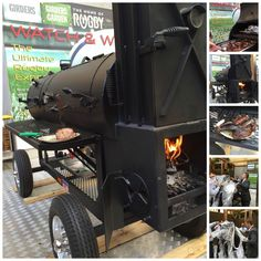 #ComingSoon to #GirdersGarden at our #JAOceanViewHotel : #TheBeast - a proper Lang BBQ smoker straight from the U.S. of A.! #SmokingHot #MeatTheBeast #ComeSayHowdy #ThankYouForSmoking #TheWalkJBR