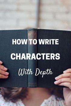 Write characters with depth