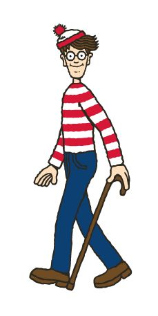 wheres waldo? Just bought Brynn the books, and she loves them just like I did when I was a kid:)