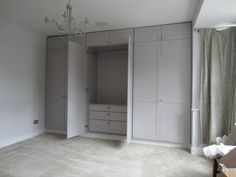 Bespoke draws below clothes hanging rail to maximise use of space (image 3 of 3) Hanging Clothes Rail, Hanging Rail, Loft Room, Bedroom Loft, Bedroom Storage, Wardrobe Design, Space Images, Storage Ideas, Bespoke