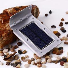 Segunda generación 16 led lámpara de luz solar motion sensor de luz de pared ahorro de energía de luz de seguridad a prueba de agua al aire libre luces de navidad