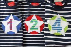 Langarmshirts - Geburtstagsshirt EINS - ein Designerstück von Lollies bei DaWanda