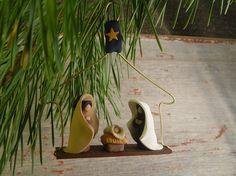 Nativity Ornament, Creche Ornament