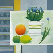 Reg Cartwright. Still Life - Small Flowers