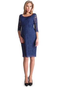 Seraphine 'Arabella Luxe' Lace Maternity Dress available at #Nordstrom