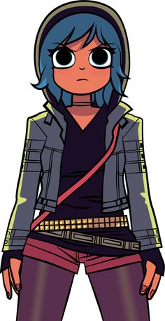 Ramona Flowers - Scott Pilgrim Vol. 5 by ~MontanaFerrin on deviantART