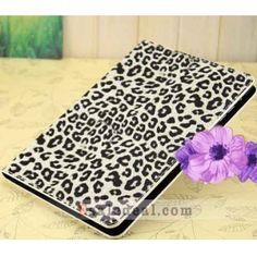 Leopard Folio Leather Case For iPad Mini Stand Smart Cover Protector