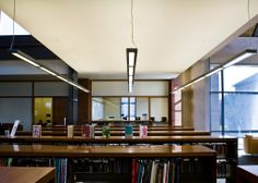 Fascinating lighting design · libraries images library