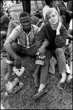 Bruce Davidson USA. Montgomery, Alabama. 1965. The Great Freedom March  Magnum Photos