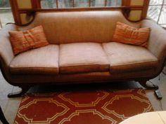 Duncan Phyfe Clawfoot Sofa