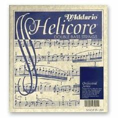 Helicore Bass E 1/8 Size Medium by Helicore (D'Addario). $34.99. DAddario Helicore Double Bass E String, Nickel wound on steel core