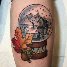 This but with the witch house from Salem MA, and wharf behind.