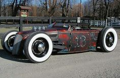Rat Rod of the Day! - Page 69 - Undead Sleds / Rat Rods Rule - Hot Rods, Rat Rods, Sleepers, Beaters & Bikes. Cool Hand Luke, Rat Look, Traditional Hot Rod, Mini Trucks, Chevy Trucks, Custom Cars, Vintage Cars, Hot Rods, Cool Cars