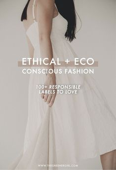 Labels To Love Ethical and Eco Fashion Brand Directory The Greener Girl is part of Eco conscious fashion - The ultimate brand directory for ethical and ecoconscious fashion brands With over 100 responsible labels to love, this is your goto guide! Fast Fashion, Vegan Fashion, Fashion Mode, Slow Fashion, 2000s Fashion, Fashion Clothes, Fashion Boots, Fashion Dresses, Womens Fashion