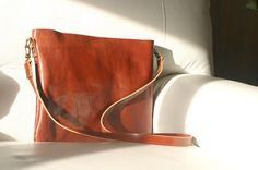 Husband gift Leather Messenger Bag от Creazionidiangelina