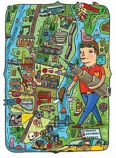 Aaron Meshon maps