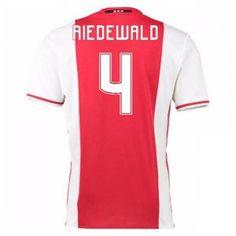 16-17 Ajax Home #4 Riedewald Cheap Replica Jersey [G00718]