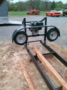 Portable Bandsaw Mill, Homemade Bandsaw Mill, Portable Chainsaw Mill, Portable Saw Mill, Lumber Mill, Wood Mill, Woodworking Workshop, Woodworking Jigs, Chainsaw Mill Plans