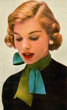 Photo Digital Archive - All For Simple Hair Rockabilly Makeup, Retro Makeup, Vintage Makeup, Vintage Beauty, Makeup Art, Rockabilly Girls, Rockabilly Style, 1950s Fashion Women, Vintage Fashion
