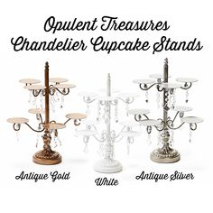 SAVE 20% with PINTEREST20 when you SHOP from the ORIGINAL BRAND.. Opulent Treasures signature chandelier design! Shop from the original creator of the chandelier cake & dessert stands! Chandelier Cake, Glass Chandelier, Dessert Stand, Cupcake Stands, Dessert Tables, Wedding Sweets, Event Decor, Wedding Inspiration, Design Shop
