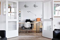 studio space / big glass doors