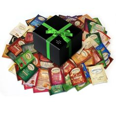 Custom Variety Twining Tea Bags - Sampler Assortment Variety Tea Bags (42 COUNT) *** Trust me, this is great! : Fresh Groceries