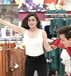 photo Connelly__Career_005.gif Career Opportunities Movie, Jennifer Conolly, Jennifer Connelly Young, Jennifer Carpenter, Melissa Supergirl, Olivia Hussey, And God Created Woman, Grunge Girl, Hot Brunette