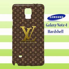 New Louis Vuitton Textual Samsung Galaxy Note 4 Case Cover