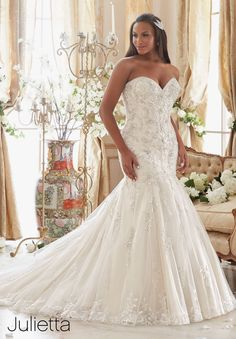 Julietta - 3205 - All Dressed Up, Bridal Gown