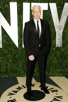 Anderson Cooper's style is timeless.     The 30 Most Stylish People in Media | Styleite #mensfashion2013 #suits