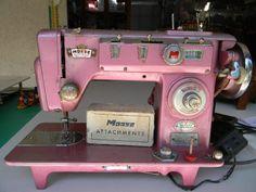 pink morse sewing machine - Google Search