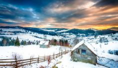 Winter in Bucovina, Romania (by Sorin Markus) Romania, George Henry, Mountains, House Styles, Winter, Places, Imagination, Philosophy, Traveling