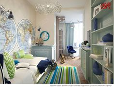 Kids Room Interior Design, Home Study Rooms, Home, Kids Interior Room, Boy Room, Home Decor, Kids Beds For Boys, Room, Baby Room Design