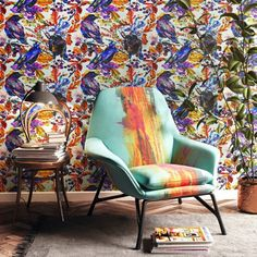 Jaw-dropping wall coverings anyone can put up in a flash. Simply peel, stick, et voilá. No muss, no fuss and no commitment. Cheap Christmas Cards, Christmas Images, Christmas Decor, Home Wallpaper, Wallpaper Ideas, Temporary Wallpaper, Coral And Gold, Bohemian Decor, Boho