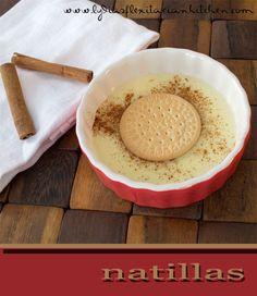 Easy natillas recipe