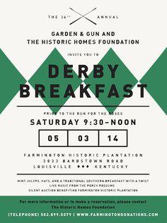 Original Makers Club x Derby Breakfast