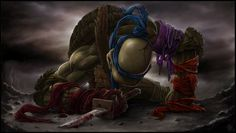 Leonardo's Goodbye To Fallen Brothers — GeekTyrant