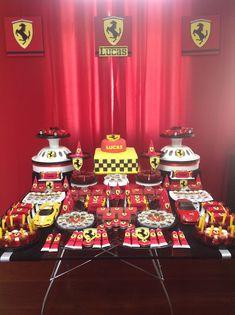 Douce Enfant: Decoração Ferrari do Lucas!