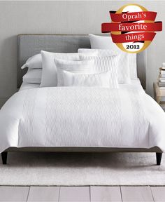 Hotel Collection Bedding, Embroidered Diamonds Collection - Oprah's Favorite Things - Bed & Bath - Macy's #MacysFavoriteThings