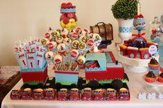 Tema para festa de aniversário: Estação de trem - Crescer | Festa de aniversário