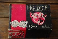 Vintage Pig Game