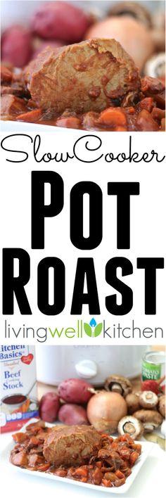 Clean Eating Slow Cooker Pot Roast Recipe