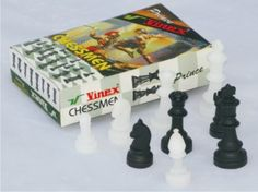 Different chessmen to play chess..